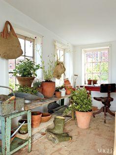 American Pastoral: Miranda Brooks and Bastien Halard's Brooklyn Home - Vogue Magazine