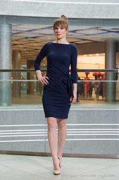 ba14b06e38 sukienki-PROWANSJA dopasowana z wiązaniem