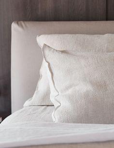 Belgian Minimalism: Get the Look | Rafia Bedlinen | Abode Living | Est Living Design Directory