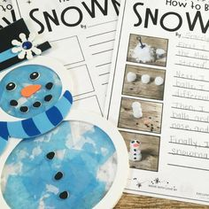 How-To Story Snowman