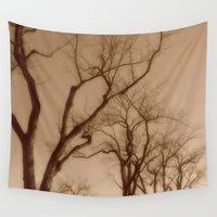 Wall Tapestry featuring Trees by Stone Twig Studio