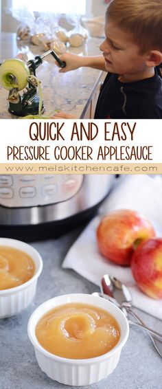 Quick and Easy Pressure Cooker Applesauce Quick and Easy. Quick and Easy Pressure Cooker Applesauce Quick and Easy Pressure Cooker Applesauce Power Cooker Plus, Power Pressure Cooker, Instant Pot Pressure Cooker, Pressure Cooker Recipes, Pressure Cooking, Farberware Pressure Cooker, Easy Apple Sauce, Easy Snacks, Easy Meals