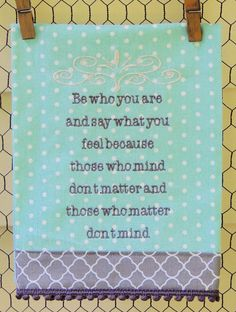 Be Who You Are by seechriscreate on Etsy