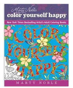 This Marty Noble's Color Yourself Happy is perfect! #zulilyfinds