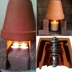 How-To-Make-A-Candle-Heater.jpg How-To-Make-A-Candle-Heater.jpg The post How-To-Make-A-Candle-Heater.jpg appeared first on Welcome! Diy Heater, Diy Candle Heater, Homemade Heater, Tent Heater, Diy Lampe, Wie Macht Man, Candle Warmer, Canned Heat, Garden Architecture