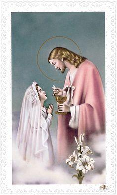 first+communion   first communion girl praying