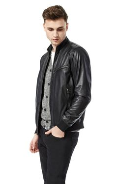 The black leather jacket: the final word on cool.