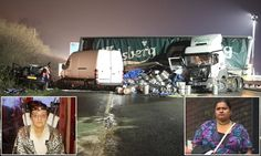 Driver on mobile caused fatal M1 crash then deleted her call records