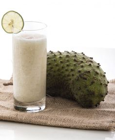 Sinh tố mãng cầu sữa chua kem