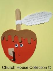 Candy Apple Lesson Plan For Sunday School