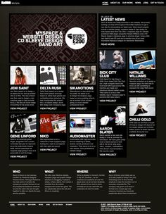 Hierarchical Grid style page layout Great Example of A Strict Grid Layout Showcasing a Hierarchical Article List from Zaum & Brown Design Web, Page Layout Design, Graphic Design, Design Ideas, Bad Websites, Newspaper Layout, Text Background, Grid Layouts, Web Inspiration