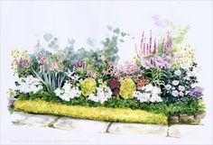 ЖУРНАЛ ТАТЬЯНЫ АЛЕКСЕЕВОЙ - SHI NO - О проектировании цветников в саду.
