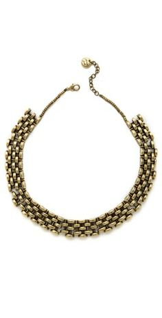 i'm digging this Avant Garde Paris Arco Chain Link Necklace