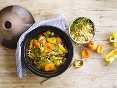 Savourez un tajine oriental et du couscous aux amandes à base d'Alpro Lait d'Amande non sucré