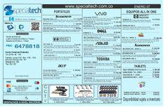 Lista de precios specialtech  07 de enero de 2014  by Specialtech Octavio Gonzalez via slideshare