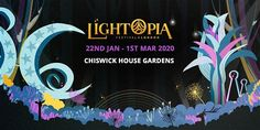Lightopia Festival London - Step Into An Experience Like No Other! About this Event Taking place at Chiswick House and Gardens, an century villa with Flower Road, Light Trails, Happy Valley, Beautiful Lights, Installation Art, Friends Family, The Incredibles, Romantic