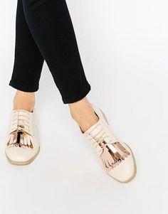 ASOS   ASOS - MISSOURI - Chaussures richelieu à franges chez ASOS
