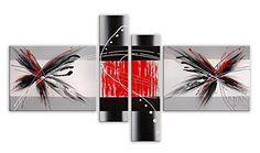 Arte dal Mondo AY050QX1 Abstrato Pintura compuesta realizada a mano montadas sobre bastidor grueso #cuadros #abstratos