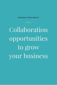Are you a small business owner or online entrepreneur? Collaborations to grow your business help you get massive results and help you get your business to the top of your dream client's mind. Learn everything you need to know about collaborating as a smal Email Marketing Campaign, Email Marketing Strategy, Business Marketing, Online Marketing, Seo Strategy, Internet Marketing, Business Help, Growing Your Business, Online Business