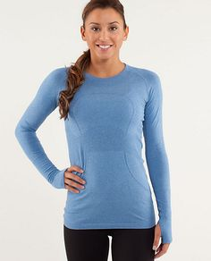 By far my favorite top for skating or running. You get me every time, lululemon...RUN:Swiftly Tech LS