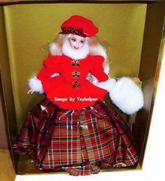 Jewel Winter Princess Barbie Doll Figure NIB Vintage #Mattel #Dolls