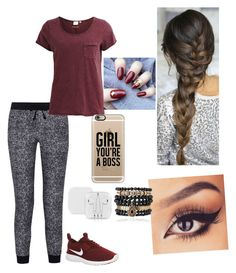 """""""Lazy day"""" by sysia12321 on Polyvore featuring Splendid, Object Collectors Item, NIKE, Casetify and Samantha Wills"""