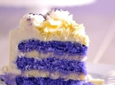 Purple Velvet Cake for lil bit