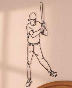 Baseball Sports Metal Wall Plaques Home Decor Boys Bedroom Man Cave Por Hang