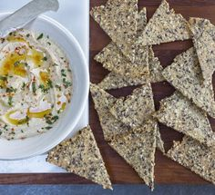Yes, you can make your own whole grain, gluten-free crackers. Here's how.