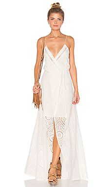 75d931568f52eb THE JETSET DIARIES Santa Fe Maxi Dress in Ivory Pastel Outfit