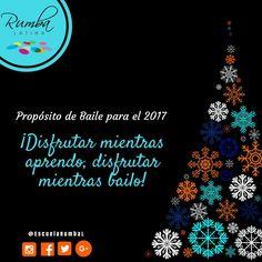 Propósito de Baile para el Año Nuevo 2017: ¡Disfrutar mientras aprendo, disfrutar mientras bailo!  #navidad2016 #propositoañonuevo #metas #añonuevo2017 #venabailar #diciembre #diciembre2016 #cambiatuvida #aprendeabailar #escuelarumbalatina #rumbalatina #escueladebaile #clases #cursos #talleres #personalizadas #bailar #merengue #salsa #caracas #bachata #muevete #activate #disfruta #aprende #baila #clases #personalizadas #clasesindividuales