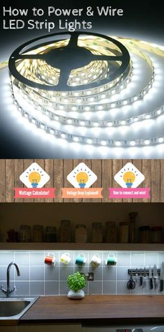 How to cut connect power led strip lighting youtube diy 12v led flex strips are super easy to use follow this guide to calculate power and ensure you are wiring correctly httpamzn2quw7y8 aloadofball Image collections