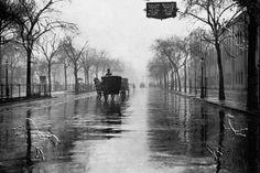 Rainy Day, New York Poster at Barewalls. New York Poster, New York Canvas, New York City Photos, Vintage New York, Vintage Artwork, City Art, Wonderful Images, Artwork Prints, New Day