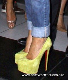 yellow heels - Woman Shoes - Best Collection