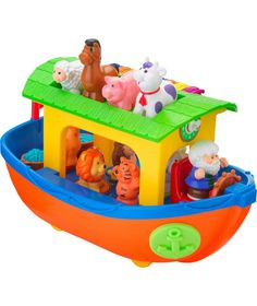 Buy Chad Valley Noah's Ark at Argos.co.uk - Your Online Shop for Toy boats, Character playset and dolls.