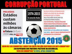 #CORRUPÇÃO #PORTUGAL