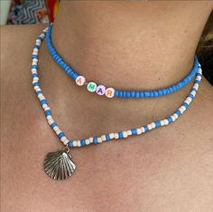 Seed Bead Jewelry, Cute Jewelry, Beaded Jewelry, Jewellery, Summer Bracelets, Summer Jewelry, Bracelet Designs, Necklace Designs, Handmade Bracelets