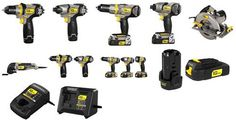 New Stanley Fat Max line of power tools