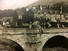 Haunting photos reveal 'lost' Derbyshire village drowned by large reservoir Ashopton in north Derbyshire had a population of about 100 people and boasted dozens of cottages, a pub and village hall before it disappeared under water in 1943 Peak District England, Derwent Valley, Lost Village, Derbyshire, Going Home, British History, Image Shows, Atlantis, Old Photos
