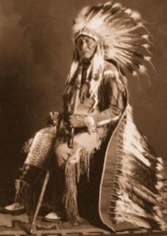Chief Sapiah, leader of the Southern Ute tribe from 1880 until his death in 1936