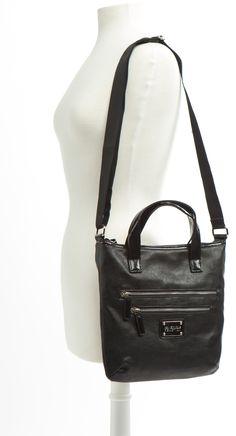 Zippy Shoulder Bag - Black
