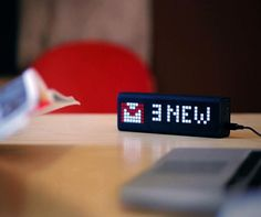 LaMetric Is A News Ticker For Your Smartphone