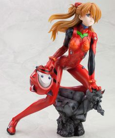 Asuka Statue! Great pose.