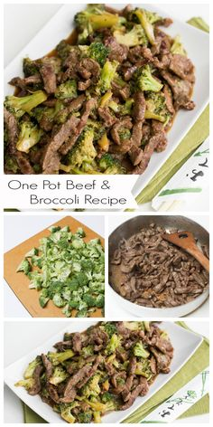 {One Pot Beef & Broccoli Recipe} preserving all flavors in one pot and having no extra dishes to was, is a Genius idea! This one is a must try