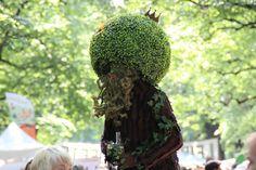 Maskottchen?  #Leipzig #Clarapark #Fete