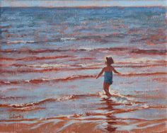 """Wide as the Ocean"" Oil Painting"