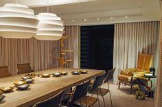 Pendente LE SOLEIL e abajur BINIC by #Foscarini, pendente SIMPLE / Design de interiores: Fred Adejar Fotografia: Elton Rocha #iluminacao #lightingdesign #LightDesignExporlux  #designinteriores #decoracao #luminarias #pendentes #CasaCor