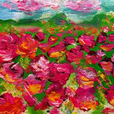 Field of dreams ... Field of color... 💕💕💕💕#oilpainting #wisconsin #artist #art #red #artist 🎨🎨🎨🎨💕💕✨🎨🎨🎨✨💕💕✨:spark