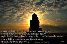 Roald Dahl Book quote