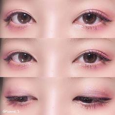 Makeup Face Tips Make Up 44 Super Ideas Make-up-Gesichtstipps Make Up 44 Super-Ideen Uzzlang Makeup, No Eyeliner Makeup, Pink Makeup, Cute Makeup, Makeup Inspo, Makeup Ideas, Makeup Geek, Makeup Tutorials, Korean Makeup Tips